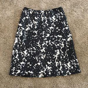 Lauren Ralph Lauren Floral Silk Skirt